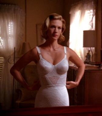 MAD MEN lingerie Betty Draper