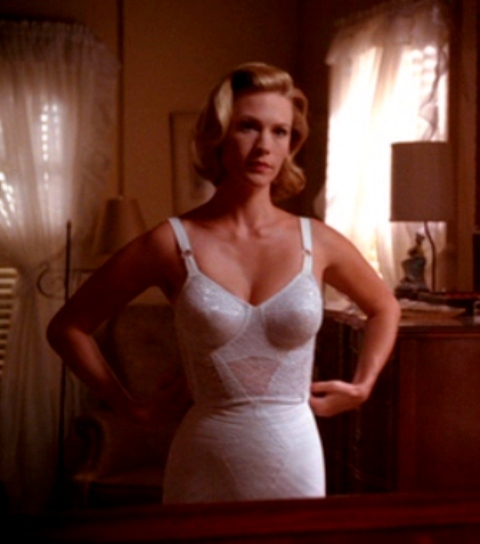 MAD MEN lingerie Betty Draper