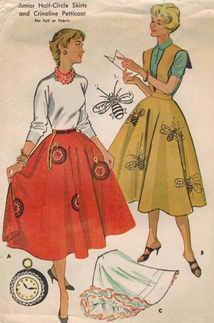 circle skirt novelty skirt 3