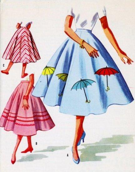 novelty circle skirt 2