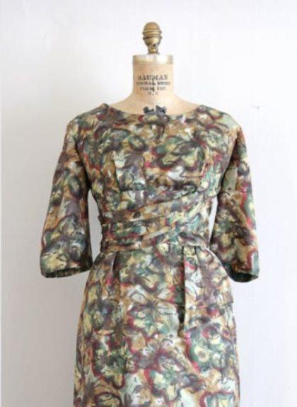 joan dress floral