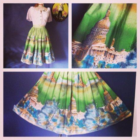 usa skirt