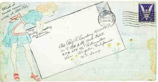 WW2 Love letters